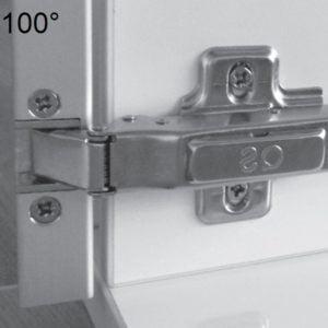 """""""TOP LINE"""" aluminium frame hinges"""