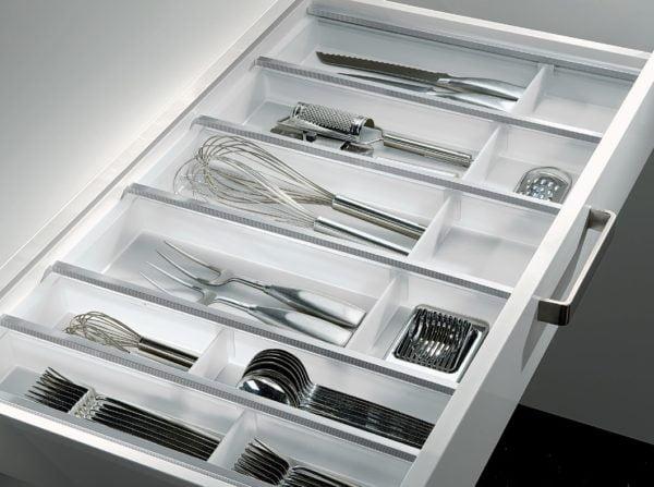 "Cutlery trays ""FLEX LINE"", White"