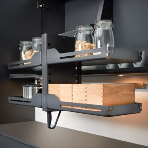 Pegasus LIBELL shelf lift mechanism