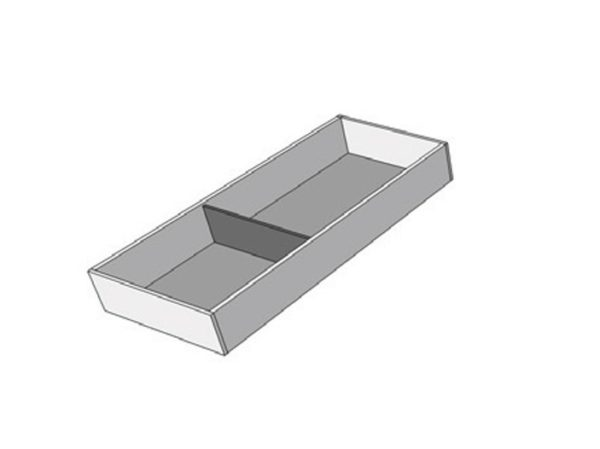 For a cabinet of 450 mm width, F2A