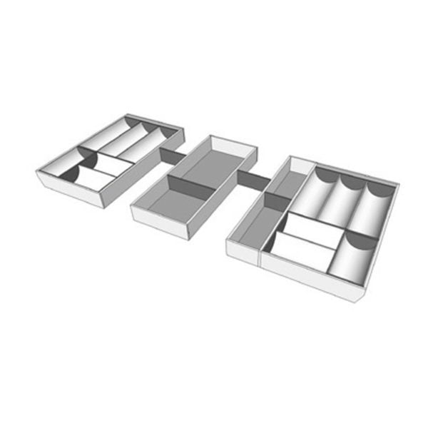 For a cabinet of 1172 mm width, T11