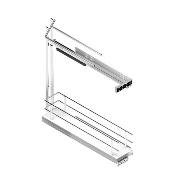 Pull-out towel side runners COMPACT