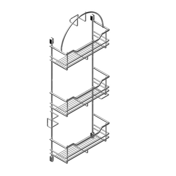 Vacuum cleaner accessory rack CLASSIC
