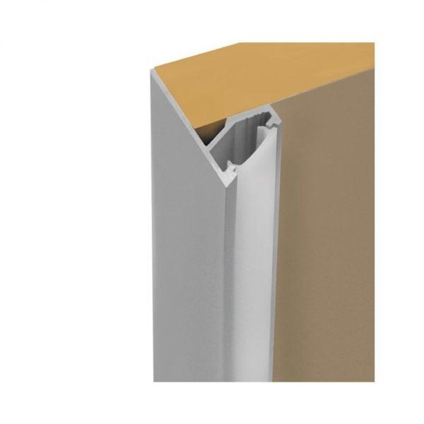 LED corner profile for shelves