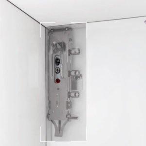 Universal concealed cabinet hanger LIBRA H2