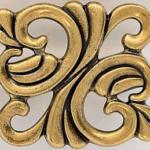 Shiny vintage bronze
