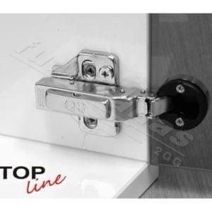 """TOP LINE"" 95° mini hinge for glass doors"