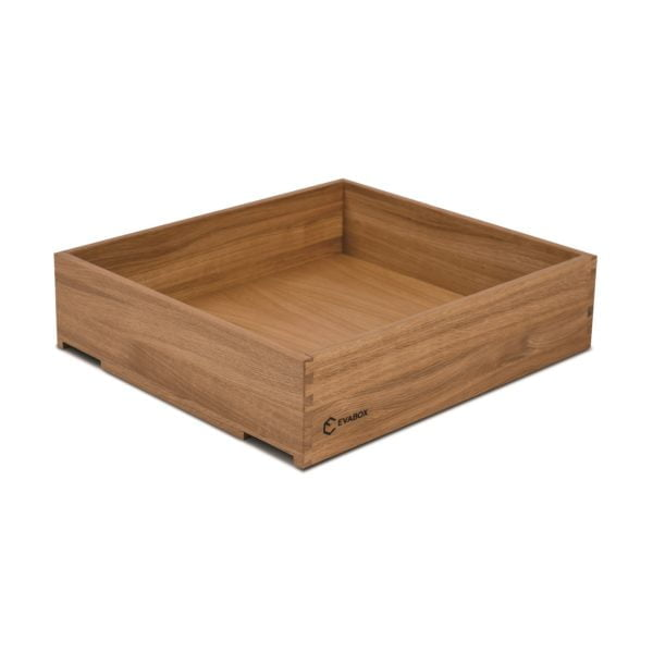 GammaBOX Solid Oak/Walnut dovetail TYPE 2 drawer
