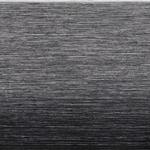 Brushed matt black