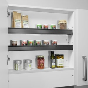 Shelf for extractor fan units for 900mm width cabinet