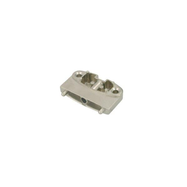 "Bracket adapter for narrow aluminum profile doors (nickel plated) for ""KRABY"" 2"
