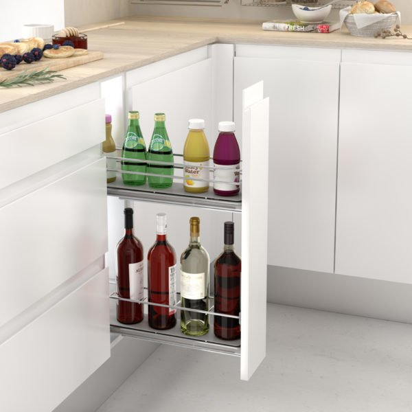"Pull-out bottle side runners ""Menage confort CLASSIC"""