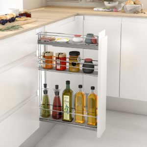 """Bottle pull-out with 3 shelves """"Menage confort"""""""
