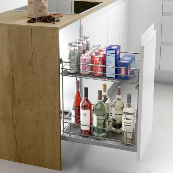 """Pull-out bottle basket """"Menage confort CLASSIC"""""""