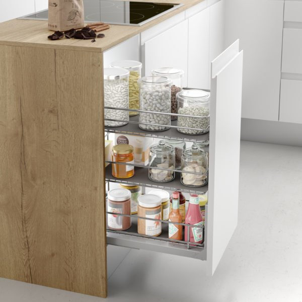 """Pull-out pantry basket """"Menage confort CLASSIC"""""""