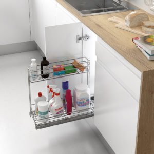 "Pull-out cleaning basket ""Menage confort CLASSIC"""