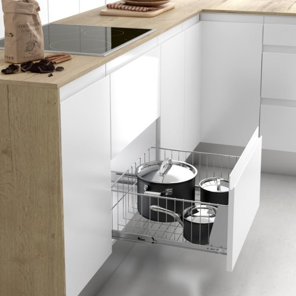 """Pull-out saucepan basket """"Menage confort CLASSIC"""""""