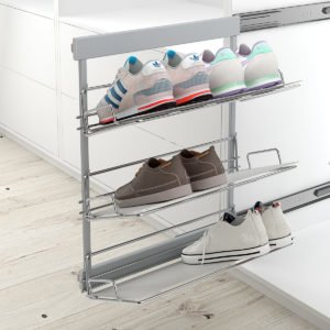 "Pull-out frame shoe holder ""Menage confort"""