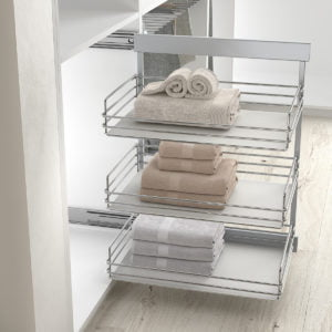 "Pull-out frame side runners ""Menage confort"""
