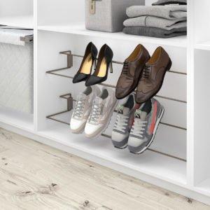 "Adaptable shoe holder ""Menage confort"""
