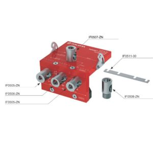 TARGET J10-J12 drilling jig for panel thickness 16 and 18 mm
