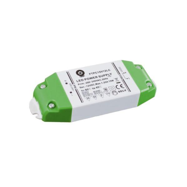 LED POWER SUPPLY 12V, 15W, 1.25A