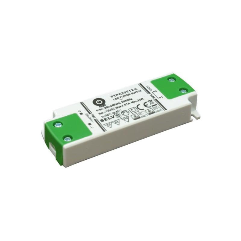 LED POWER SUPPLY 12V, 20W, 1.67A