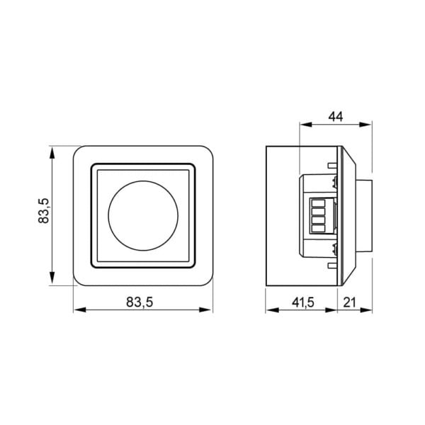 Dimmer switch for LD 8104P 2