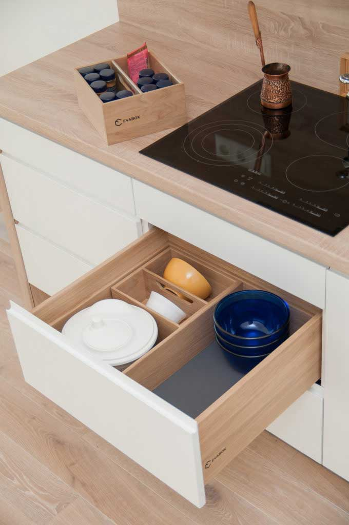 Solid wood drawers boxes