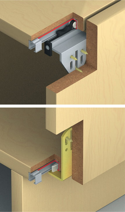 "Sliding doors system ""Eku Clipo 15 HVF"" 3"