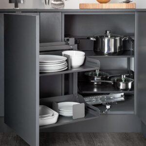 Magic Corner Standard with LIBELL shelves